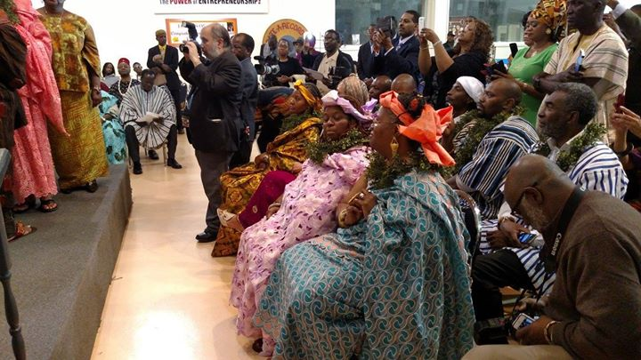 Facebook - Nubian Royal Chiefs and Queen during performance of sacred ceremony o