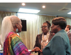Facebook - Queen Shebah III with members of the wonderful Twin island Tobago Min