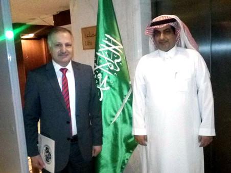 Ambassador Al-Alshammari confirmed the intention of the Arab kingdom of Saudi Arabia to open up the