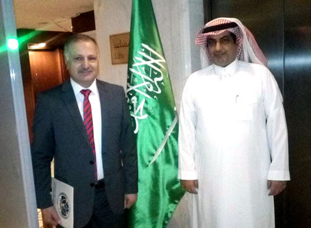 Ambassador Al-Alshammari confirmed the intention of the Arab kingdom of Saudi Arabia to open up the