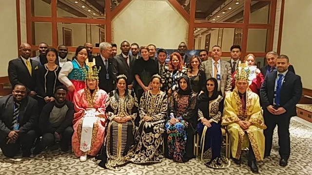 ISEA HLFTC Chairman HIM Empress Shebah III - Queen Shebah III honored at ISEA-AKF Dinner