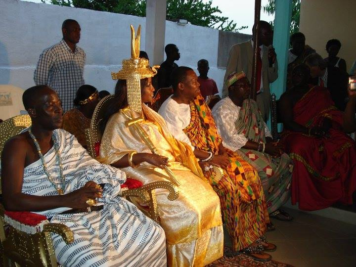 Facebook - Nubian Royals: Their Royal Majesties Nanan Abou Bibi II & Abena Nyamt