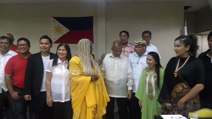 Facebook - The Tribal Government of the Philippines was so honored on the arriva