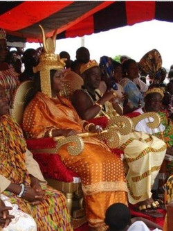 Facebook - Nubian Kingdom line Pinango & Abron Throne Royals  HRM Nanan Kouadjo