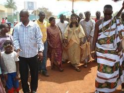 Facebook - Nubian Royals:   His Majesty Kouadjo Adou Bibi II & Her Majesty Empre