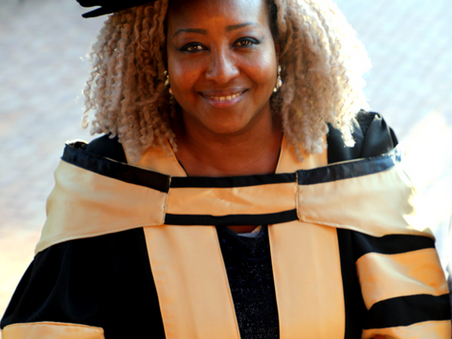 Her Majesty is now Doctor of Philosophy (PhD) and a newly Inaugurated Professor!