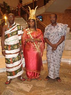 Facebook - Nubian Royals: Their Royal Majesties Nanan Abou Bibi II & Abena Nyamt