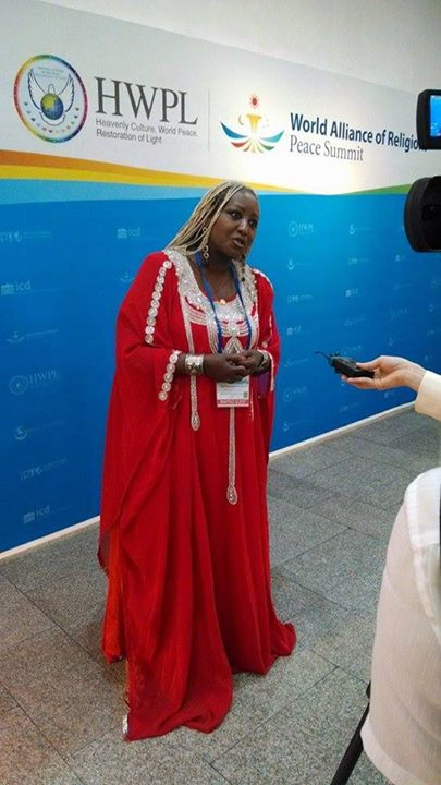 Facebook - H.I.M Empress Shebah III the Queen Of Sheba at Interview presentation
