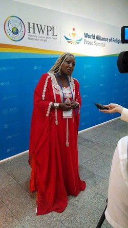 Facebook - H.I.M Empress Shebah III the Queen Of Sheba at Interview presentation