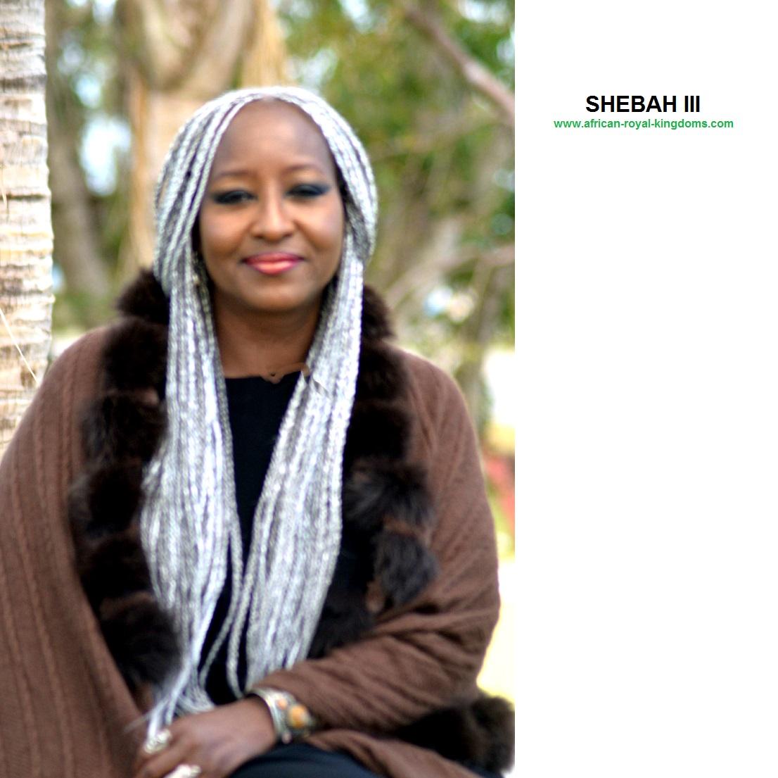 3-HM Empress Shebah Debra Amelia SAI Kasambu Ra III - Queen Shebah III