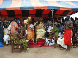 Facebook - Nubian Royals: Their Royal Majesties King Kouadjo Adou Bibi II & Quee