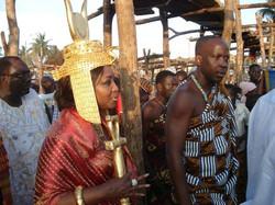 Facebook - Nubian Royals: Their Royal Majesties Nanan Kouadjo Adou Bibi II & Abe