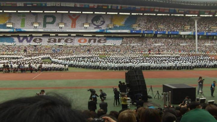 Facebook - The over 200,000 Public at World Peace Summit opening, Seoul Korea.jp