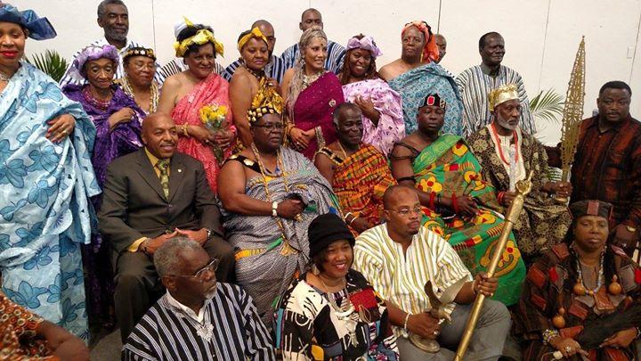 Facebook - Nubian Kings HRM Nii Kwate II and HRM Nii Amarkai III (2nd & 3rd seat