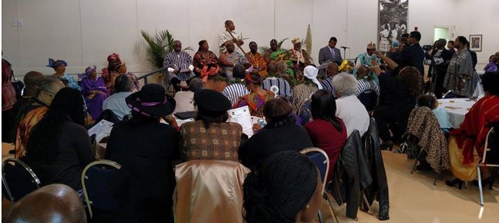 Facebook - Nubian Kings HRM Nii Kwate II and HRM Nii Amarkai III during performa