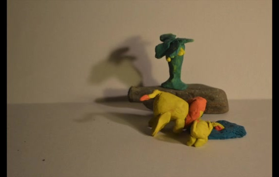 Clay-mation animation