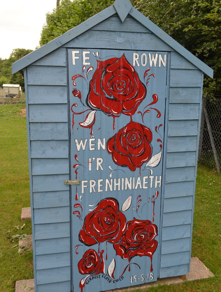 Community shed poetry comics