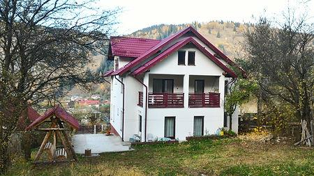 Vila Cetina - din spate