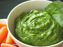 SuperGreens sauce for pasta and other dishes