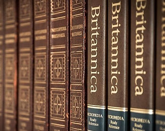 Encyclopedias: fact-checking the old-fashioned way.