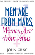 Men Are from Mars, Women Are from Venus.