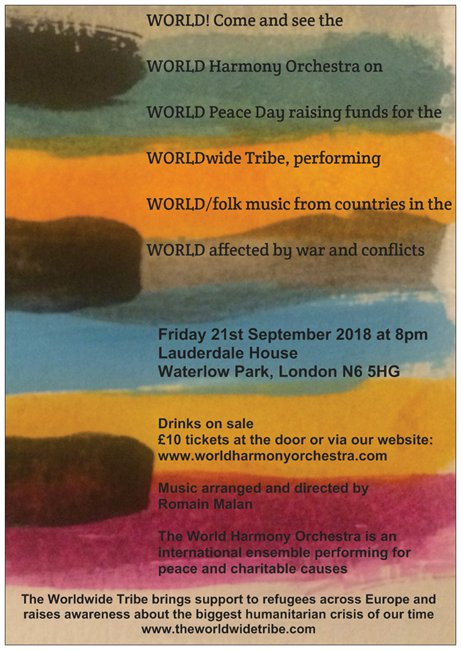 World Peace Day: music from countries in conflicts