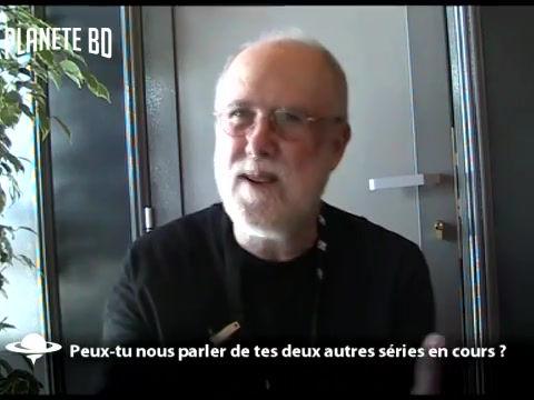 Interview Planète BD au Quai des Bulles 2015