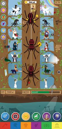 Aperçu du jeu Tap mythologia