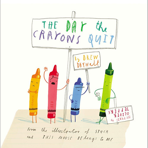 The Day That the Crayons Quit Lesson Plan