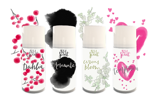 Set of all four luxury scents