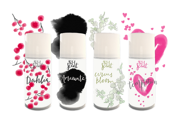 Set of  Four Luxury Scents