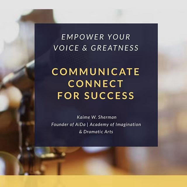 Learn to be a communication leader and e