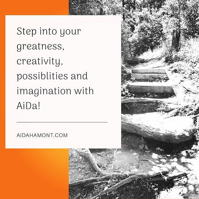 AiDa empowers greatness, creativity, pos