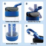 Aqua Life - Water Bottle Product Infographic