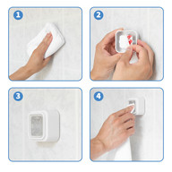 IQUAZO - Towel Holder Product Infographic