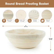 Bread Proofing Set Infographic