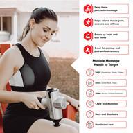 Physio Gun - Massage Gun Product Infographic