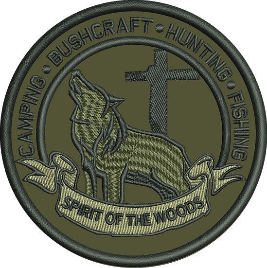 Pre- Order!!!Spirit of the Woods Custom Patch -Multicam/ O.D