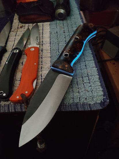"""KRF Custom """"Tribute"""" Mountain Knife  Pre-Order"""