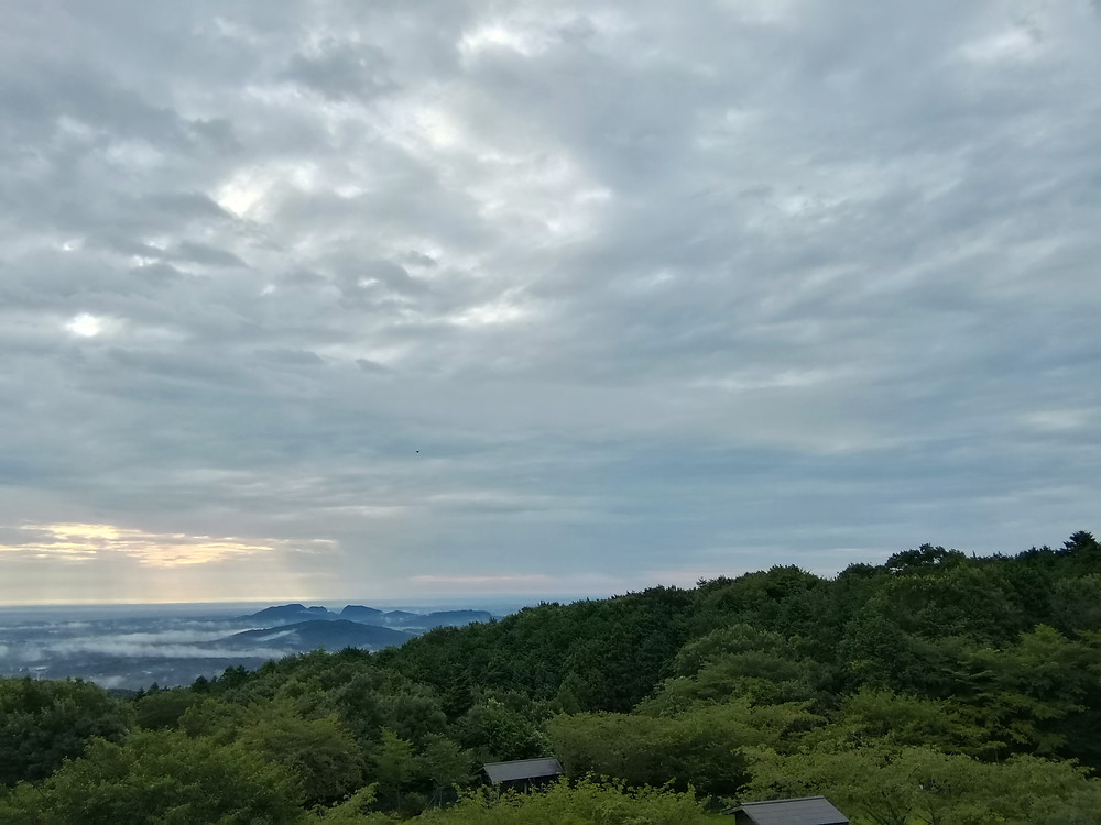 A view at the foot of Tsukuba Mountain