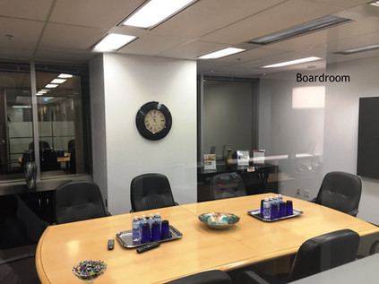 Boardroom-  where we meet with our clients