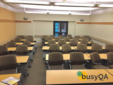 A typical class in busyQA