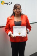 High Achiever Award - Nicola