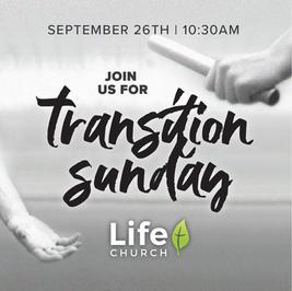 Transition Sunday