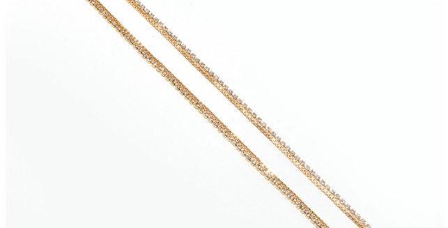 Gold Line Anklet
