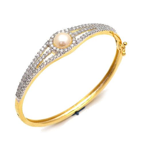 One Pearl Bracelet