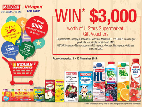 Exclusive promotions with Marigold and Vitagen