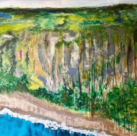 Escarpment at Thirroul