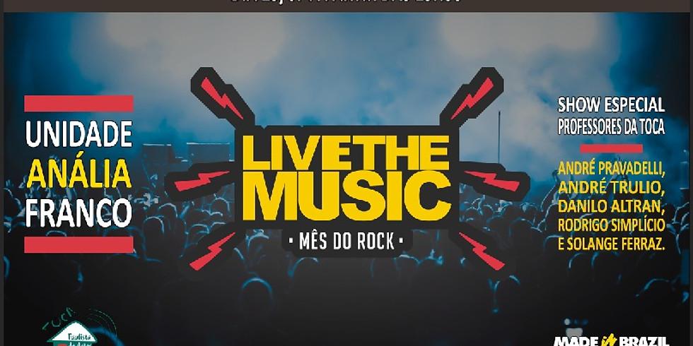 Pocket Show - Live The Music
