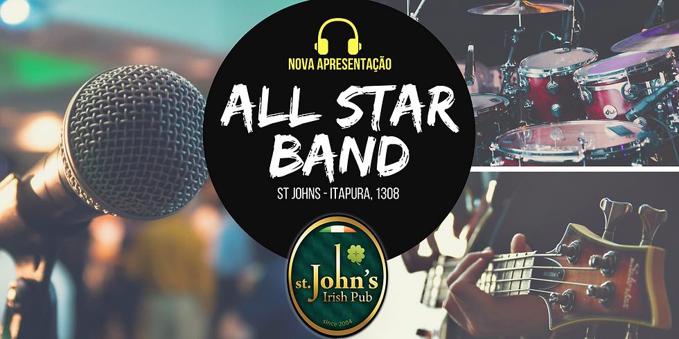#AllStarBand: Apresentação dos Alunos no St John's Pub